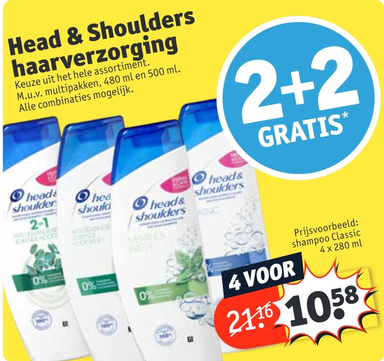 Head & Shoulders haarverzorging