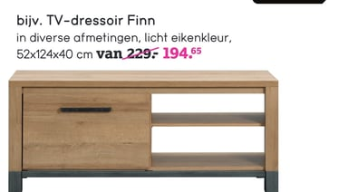 TV-dressoir Finn