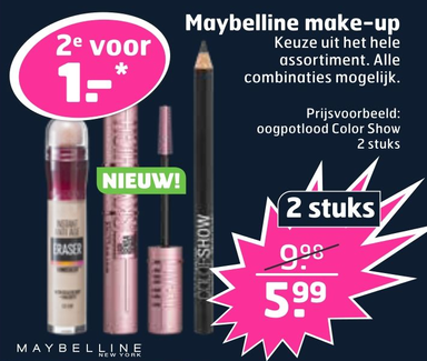 Maybelline make-up