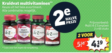 Kruidvat multivitaminen