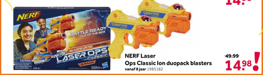 NERF Laser Ops Classic Ion duopack blasters
