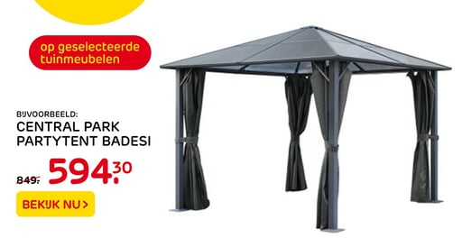Central Park Partytent Badesi
