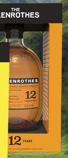 The Glenrothes 12 Years 70CL Whisky