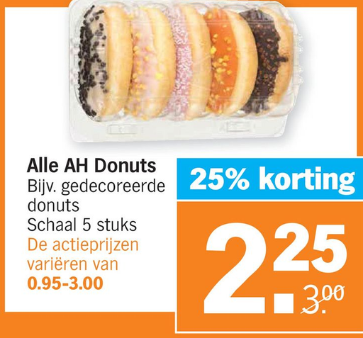 Alle AH Donuts