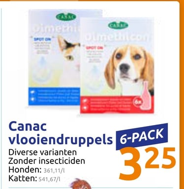 Canac vlooiendruppels