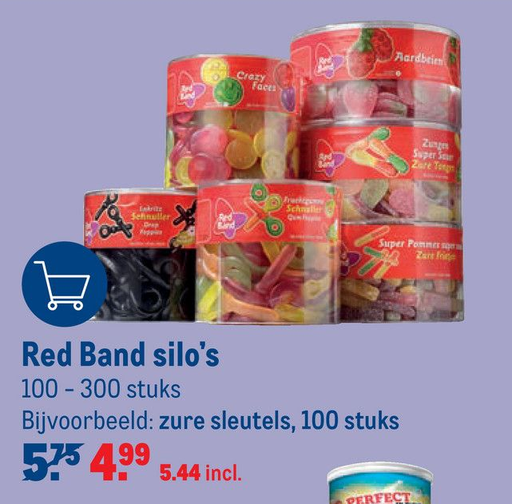 Red Band silo's