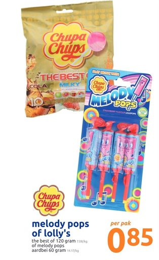 melody pops of lolly's