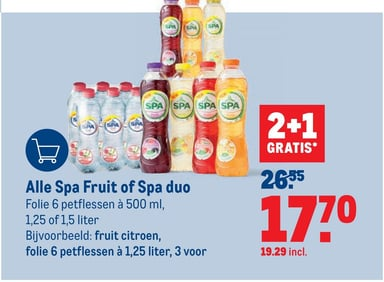 Alle Spa Fruit of Spa duo