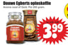 Douwe Egberts oploskoffie Aroma rood of Gold