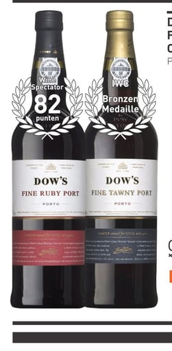 Dow's Fine Tawny 75CL Overig