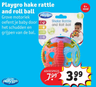 Playgro hake rattle and roll ball