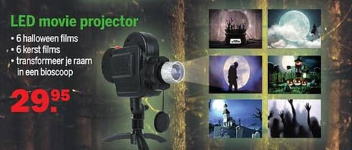 LED movie projector