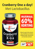 Cranberry One a day met X-tra