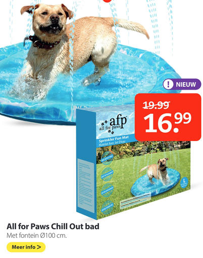 All for Paws Chill Out bad