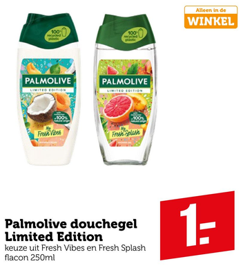 Palmolive douchegel Limited Edition