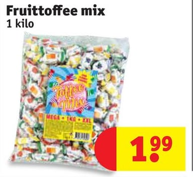 Fruittoffee mix