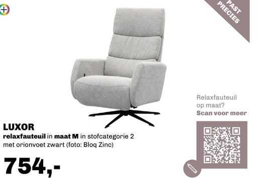 Luxor relaxfauteuil