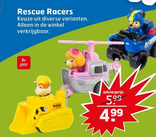 Rescue Racers