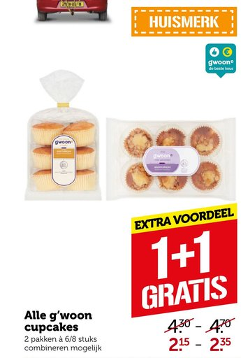 Alle g'woon Wor cupcakes