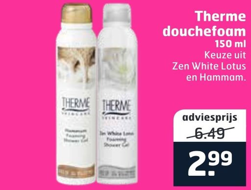 Therme douchefoam