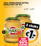 Hak appelmoes extra kwaliteit of 0%