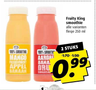Fruity King smoothie