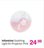 Infantino Soothing Light En Projector Pink