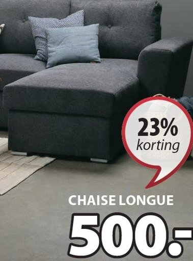 Vejlby bank met chaise longue