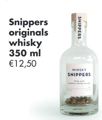 Snippers origino als whisky