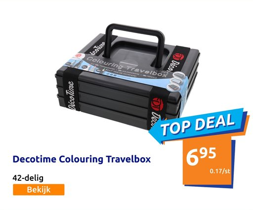 Decotime Colouring Travelbox