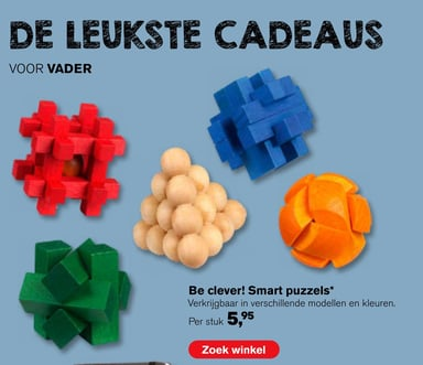 Be clever! Smart puzzels*