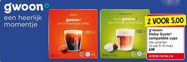 g'woon Dolce Gusto® compatible cups