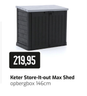 Keter Store-It-out Max Shed opbergbox 146cm