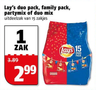 Lay's duo pack, family pack, partymix of duo mix