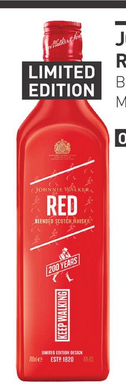 Johnnie Walker Red Icon 200th Anniversary 70CL Whisky