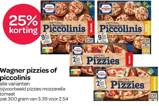 Wagner pizzies of piccolinis