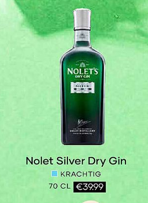 Nolet Silver Dry Gin