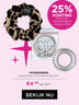 25% KORTING OP ALLE INVISIBOBBLE PRODUCTEN