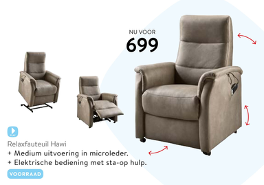 Relaxfauteuil Hawi