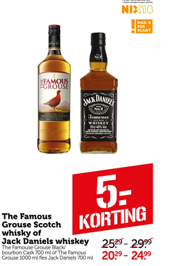 The Famous Grouse Scotch whisky of Jack Daniels whiskey The Famouse Grouse Rlack/