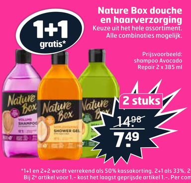 Nature Box douche en haarverzorging