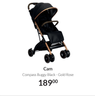 Cam Compass Buggy Black - Gold Rose
