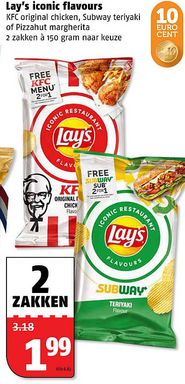 Lay's iconic flavours