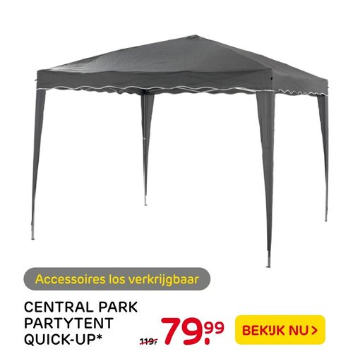 Central Park Partytent Quick-Up