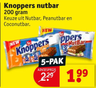 Knoppers nutbar 200 gram