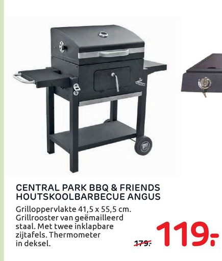 Central park bbq & friends houtskoolbarbecue angus folder