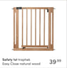 Safety 1st traphek Easy Close natural wood