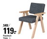 Fauteuil Yves >
