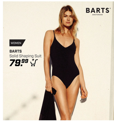 Barts Solid Shaping Suit