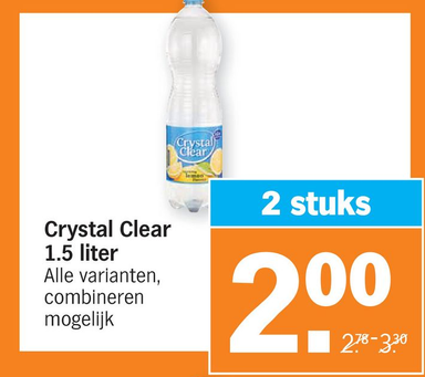Crystal Clear 1.5 liter